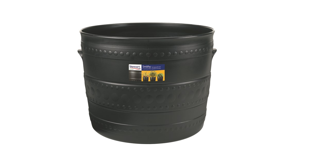 Stewarts Plastic Smithy Patio Tub Flower Pots Amp Planters