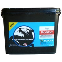 Bayer Environmental Rodilon Blocks Rat & Mice Killer - 2kg