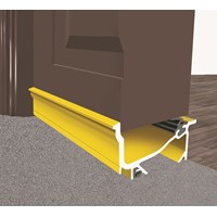 Exitex  Gold Macclex Draught Excluder - 30 x 46mm