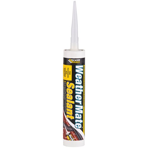 Everbuild  Weather Mate Sealant 310ml - Clear