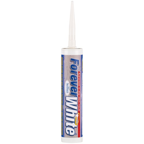 Everbuild Forever White Silicone Sealant - 310ml
