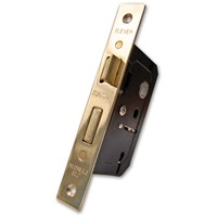 Basta  2 Lever Lock - Polished Brass