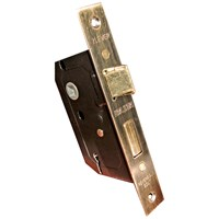 Basta  63mm 2 Lever Lock - Brass