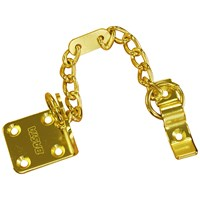 Basta  Brass Finish Door Chain