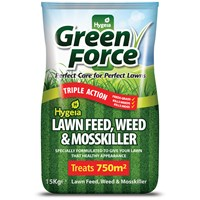 Hygeia Greenforce Lawn Feed, Weed & Moss Killer