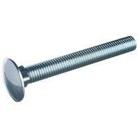 Allgrip  Cup Square Head Bolt & Nut - 10mm