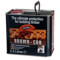 Protim  Brown Wood Preservative - 2.5 Litre