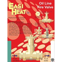 Easi Heat  Standard Oil Line Fire Valve - 3/8in