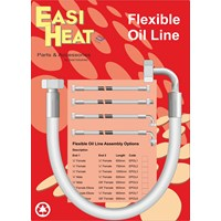 Easi Heat  1/4in F x 3/8in F Oil Line - 900mm