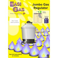 Easi Gas  Jumbo Gas Regulator