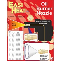 Easi Heat  80° Hollow Spray Angle Oil Burner Nozzle