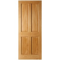 Seadec  Kingscourt Prefinished Interior Oak Door - 813 x 2032 x 44mm