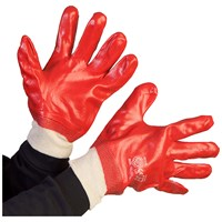 Bodyworks  PVC KW Gloves - Red