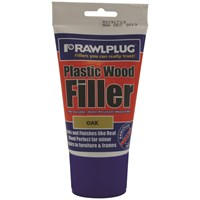 Rawlplug  Plastic Wood Filler Oak - 100ml