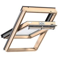 Velux  Double Glazed Centre Pivot Roof Window Pine -  GGL 3050
