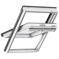 Velux  Double Glazed Centre Pivot Roof Window White - GGU 0050